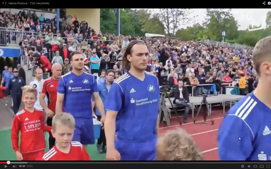 Relegationsspiel TSG vs. Hansa Rostock